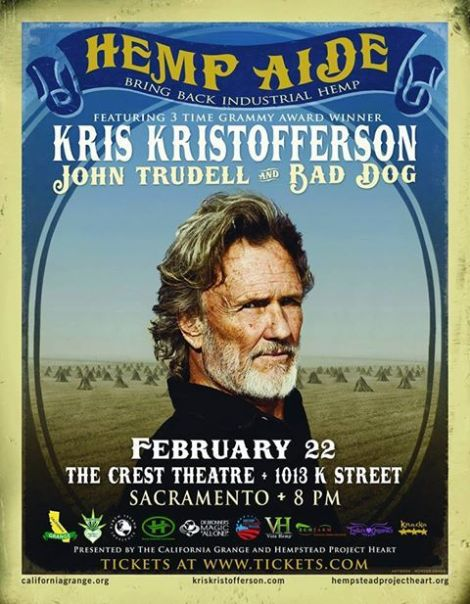 Get your tickets for the Hemp Aide Concert - Feb 22, 2014 in Sacramento